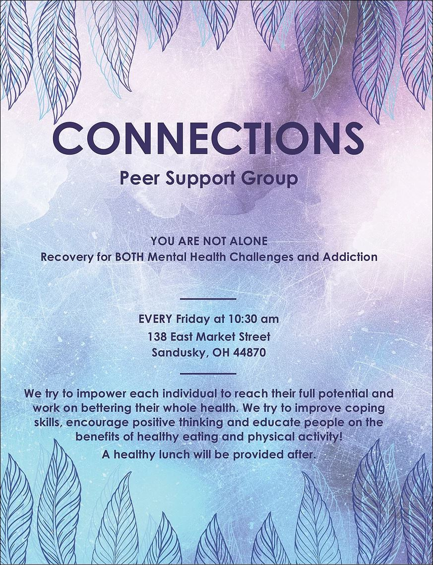 connections peer support group